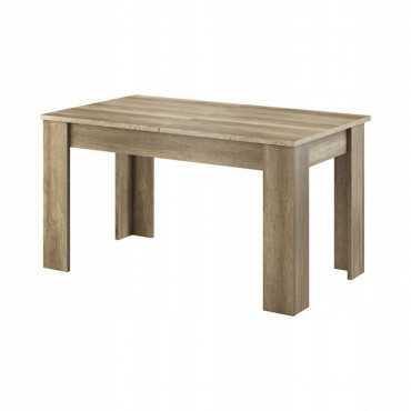 Stół rozkładany SKY (KEY) country szary 140-180