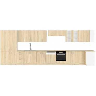 Szafka stojąca kuchenna SARA 60 D 2F BB sonoma