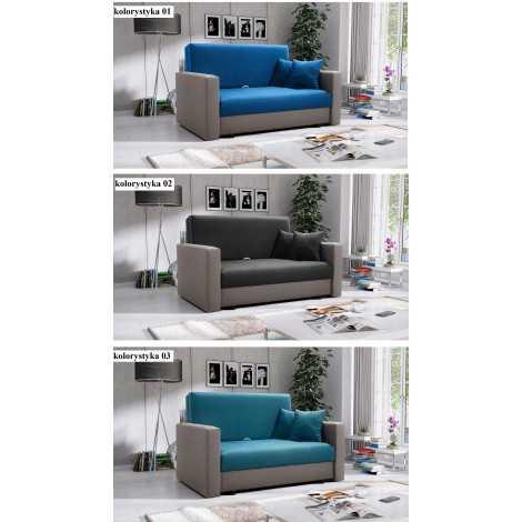 Fotel rozkładany SMART 2 sofa amerykanka