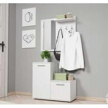 Garderoba MONTI 80 sonoma/biały
