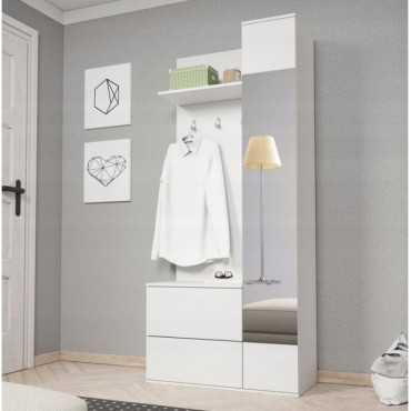 Garderoba LUNA 80 sonoma/biały