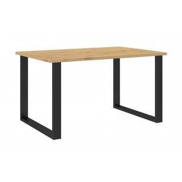 Stół prostokątny 138x90 LOFT metalowe nogi