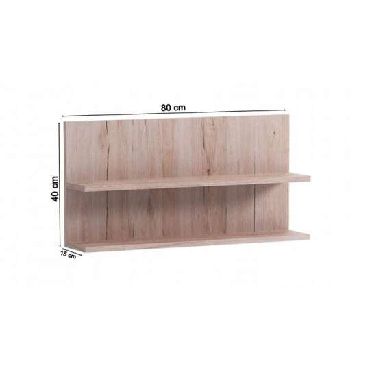 Półka wisząca K12 80cm