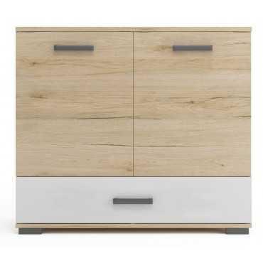 Komoda A2 90 cm szuflada półki