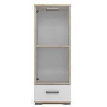 Witryna A7 50 cm półki szuflada