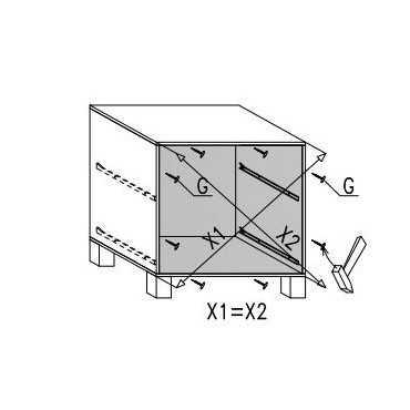 Komoda A11 40 cm z szufladami