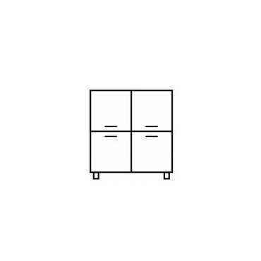 Komoda G1 90 cm półki