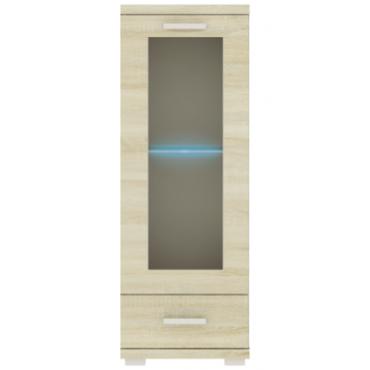 Witryna G9 50 cm z szufladą opcja LED