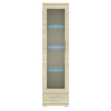 Witryna G17 50 cm z szufladą OPCJA LED