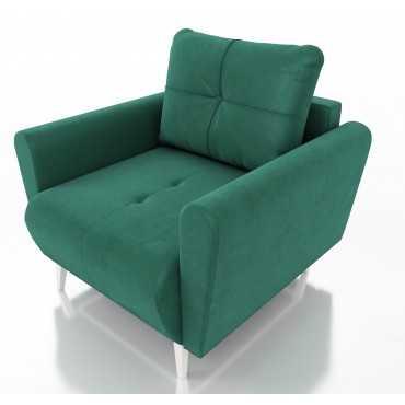 Fotel Monet, styl skandynawski, sprężyny