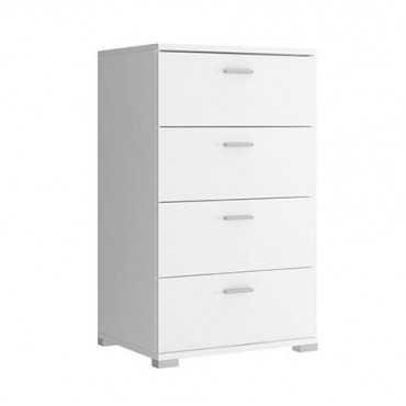 Komoda 50 szuflady biała